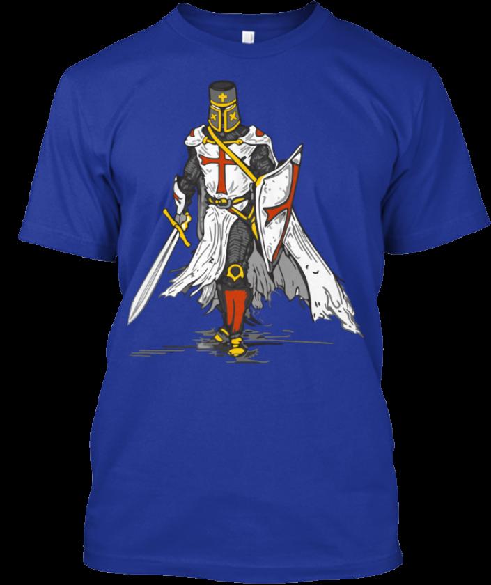 knightstemplarcrusaderblue